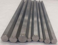 Titanium hexagonal bars