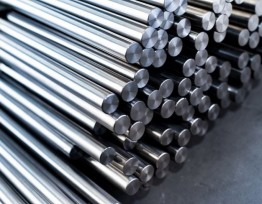 Titanium rods and bars