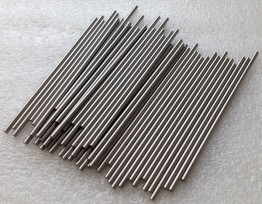 Tungsten rods and bars